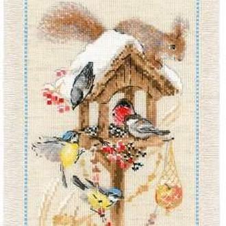 Набор для вышивания крестом  «Дача.Зима»