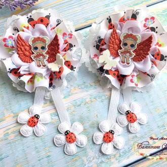Бантики з ляльками ЛОЛ