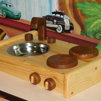Дитяча кухня з натурального дерева