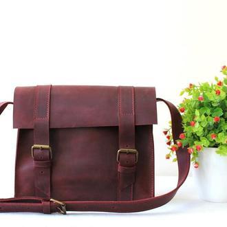 Сумка на плечо женская, женская сумка на длинном ремне, сумка из натуральной кожи