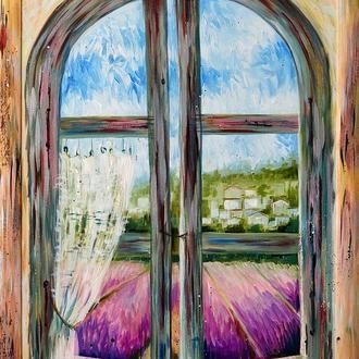 Вікно у прованс