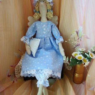 """Кукла в стиле Тильда -Сонный ангел """"Сплюшка Жанна""""- Ручная работа!"""