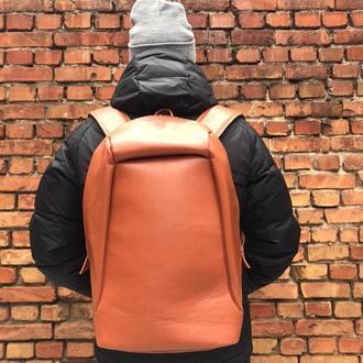 Шкіряний рюкзак активор (великий, вмісткий)