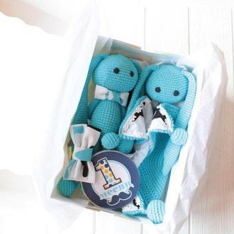 """Подарочный baby box """"Пряничный Зайчик"""""""
