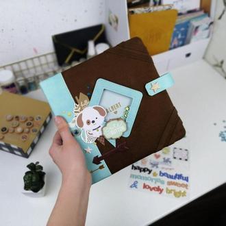Фотоальбом , альбом для новорожденного, альбом на первый год жизни