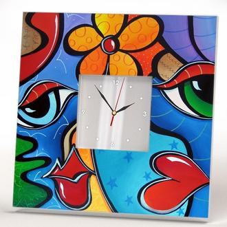 Уникальные дизайнерские часы на стену