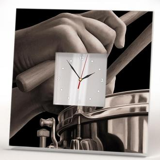 "Настенные часы ""Ударная установка Барабан"""