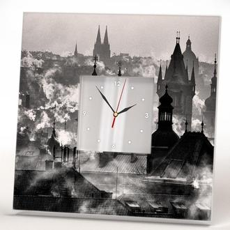 "Стильные фото часы ""Прага"""