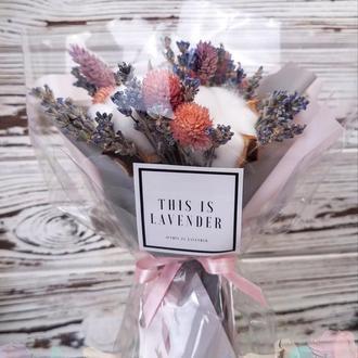Корейский букет из сухоцветов
