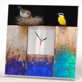 """Настенные часы """"Птицы"""""""