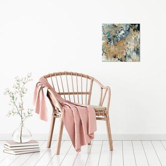 """Абстрактная живопись fluid art из эпоксидной смолы и акриловых красок. Интерьерная картина """"Африка"""""""