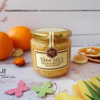 Крем-мед с орехами и сухофруктами, 250 грамм