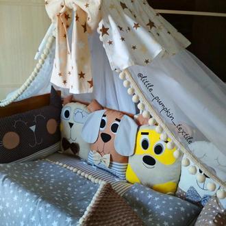 Набор в кроватку. Детская постель. Дитяча постіль.