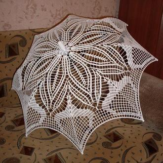 Зонт вязаный крючком