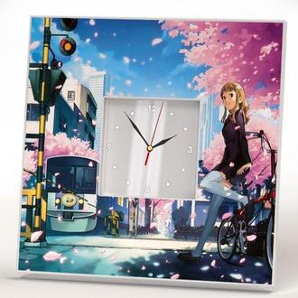 """Стильные настенные часы с декором """"Аниме"""""""