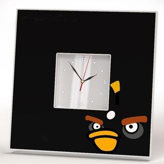 Настенные часы в детскую Angry Birds