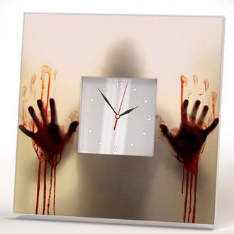 """Настенные часы """"Ходячие мертвецы. Зомби"""""""
