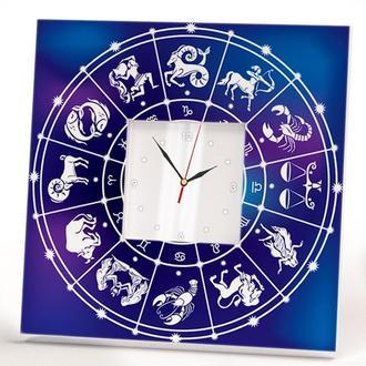 """Настенные часы """"Знаки зодиака. Астрология. Гороскоп"""""""