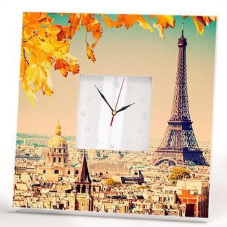 "Настенные часы ""Осенний Париж"""