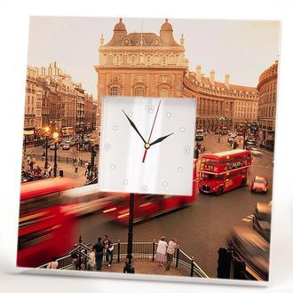 """Настенные арт-часы """"Лондон"""""""
