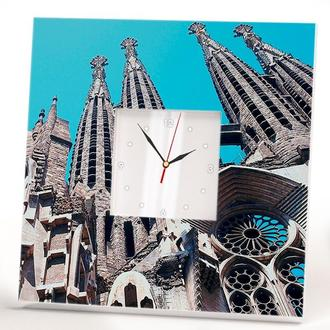 """Настенные часы """"Барселона Саграда Фамилия"""""""