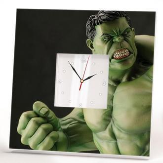 """Настенные часы """"Халк. Супергерой. Комиксы"""""""
