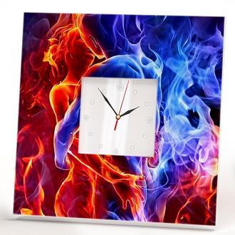 """Настенные часы """"Он и она. Любовь"""""""