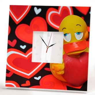 """Прикольные настенные часы """"Я люблю тебя"""""""