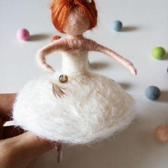 Балерина  брошь, подвеска, декор, украшение