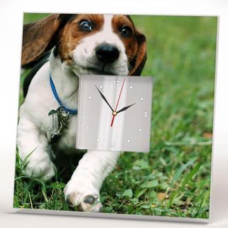 "Часы на стену в детскую комнату ""Собака Бигль"""