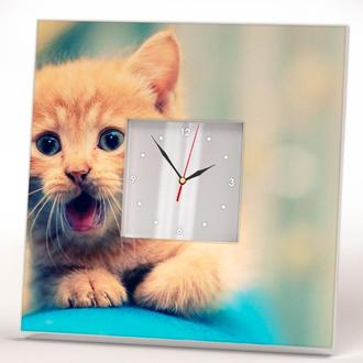 """Часы с уникальным дизайном """"Котенок"""""""