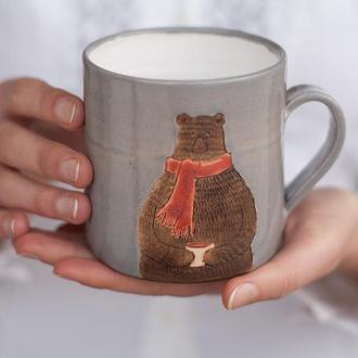 Чашка з ведмедиком 400 мл