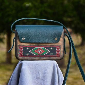 """Жіноча дерев'яна сумочка """"Vereta"""""""