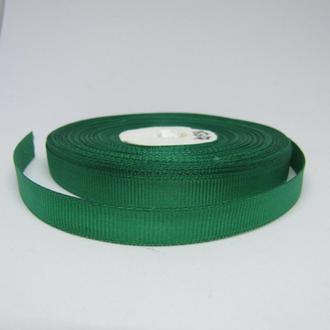Лента репсовая зеленая 10 мм