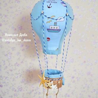 Декор в детскую в виде воздушного шара