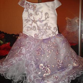 Платье детское нарядное, выпускные, вечерние, торжественные