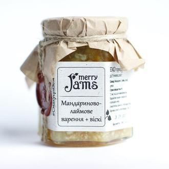 Мандаривово-лаймове варення із віскі