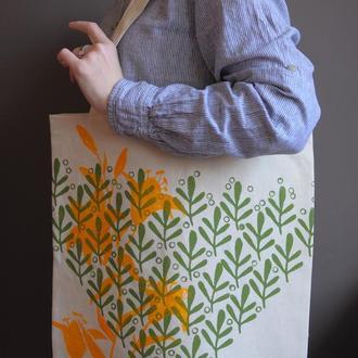 """торба """"Оливкові листочки"""""""
