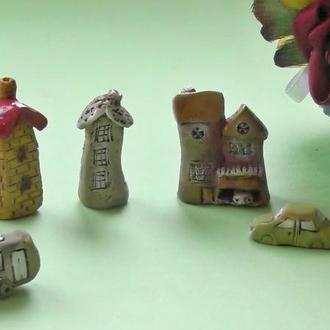 Керамическая миниатюра набор №4