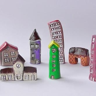 Архитектурная миниатюра ручной работы