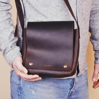 Кожаная сумка Зак