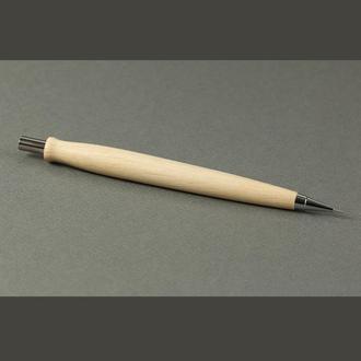 Карандаш деревянный механический 0,7 мм, модель Амфор_Граб
