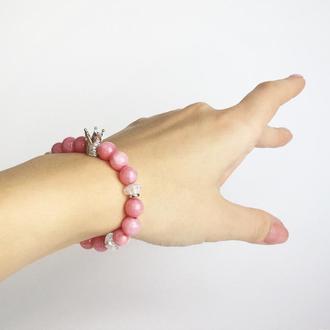 """Браслет из натуральных камней  """"Маленькая принцесса"""" (модель № 309) JK jewelry"""