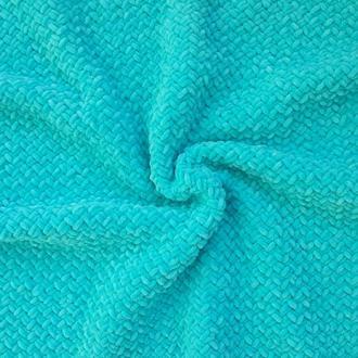 Голубой Плюшевый Детский плед, Детское одеяло, плед для новорожденного, на подарок