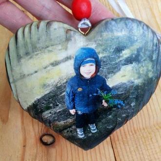 Сердце с фото