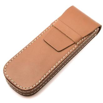 Футляр для ручек кожаный HG004 Tan