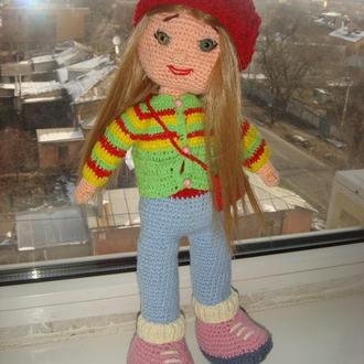 Кукла Даша ,амигурими , в наличии