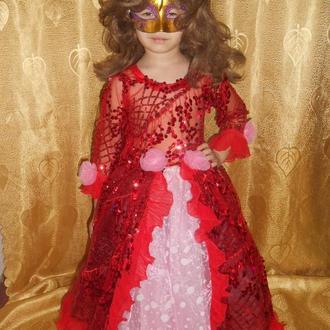 Королева конфетти. На девочку 4 - 7 лет.