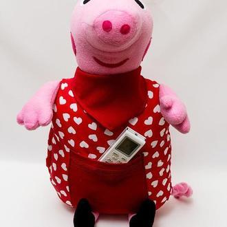 Подушка Vikamade игрушка свинка Пеппа.