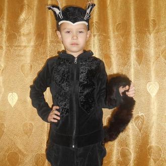 Черный кот. на мальчика 6 - 9 лет.